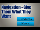Use Navigation to Make Your Customers Comfortable