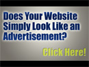 Websites should not look like Ads
