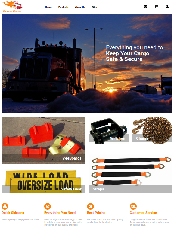 Dean's Cargo :: Cargo and Shipping Equipment :: https://www.snsbale.com