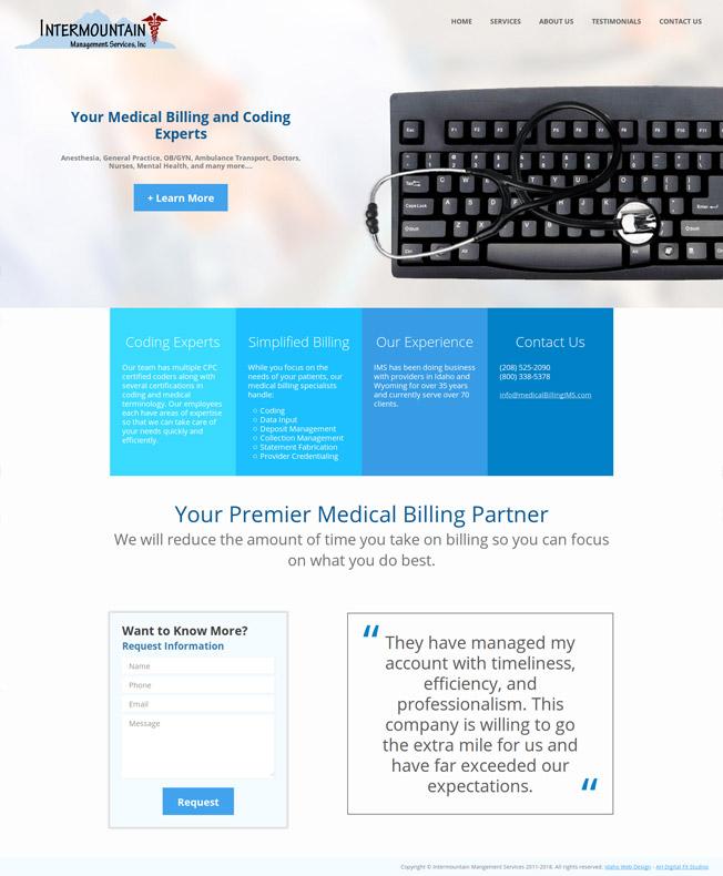 Intermountain Management Services :: Medical Billing :: http://www.medicalbillingims.com