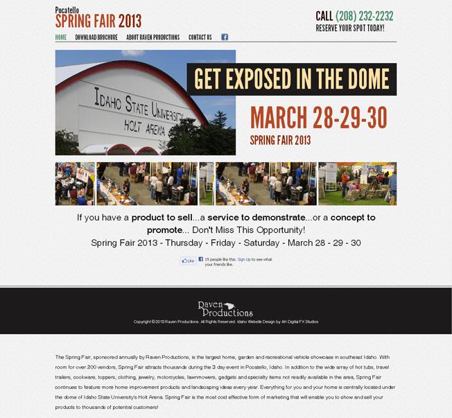 Pocatello Spring Fair :: Home, Garden, and RV Show :: http://www.pocatellospringfair.com