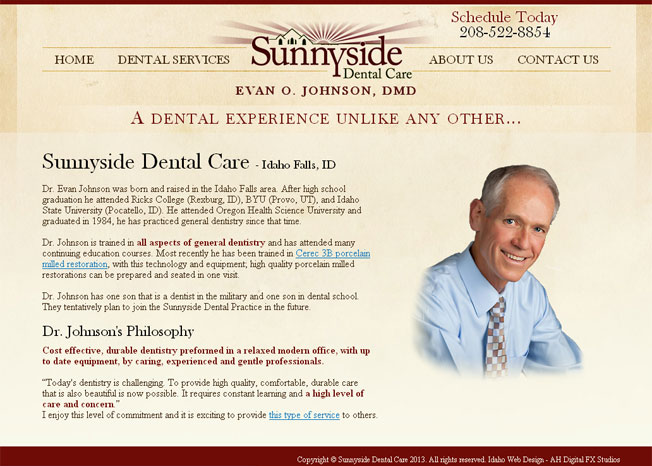 Sunnyside Dental Care :: A Dental Experience Unlike Any Other :: http://www.sunnysidedentalcare.com